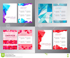 vector document letter or logo style cover brochure and vector set of document letter or logo style cover brochure and letterhead template stock images