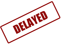 「delayed」の画像検索結果
