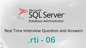 ms sql server dba experienced interview questions and answers 06 ms sql server dba experienced interview questions and answers 06