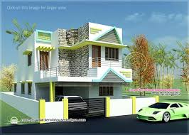 South Indian style contemporary house in sq feet   Kerala    Flat roof contemporary house