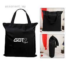 <b>High Quality</b> Canvas Tote Bag GOT7 Embroidery Shoulder Bag ...