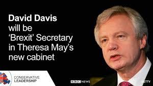 「David Davis, brexit chief」の画像検索結果
