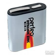 <b>Батарейка</b> гальваническая квадратная <b>Perfeo 3R12 1SH Dynamic</b> ...