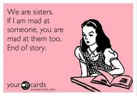 Funny Sister Quotes on Pinterest | Sister Birthday Funny, Little ... via Relatably.com
