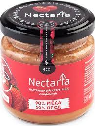 <b>Крем</b>-<b>мед Nectaria с клубникой</b>, 230 г — купить в интернет ...