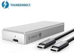 ORICO Thunderbolt 3 NVMe Enclosure External m.2 ... - Amazon.com