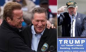 Arnold Schwarzenegger rejects Donald Trump in favor of John ...