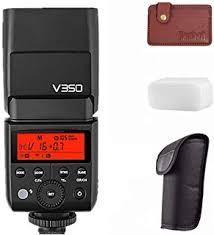 godox v350n ttl hss 1 8000s 2 4g x system camera speedlite flash with built in li ion battery xpro n transmitter for nikon