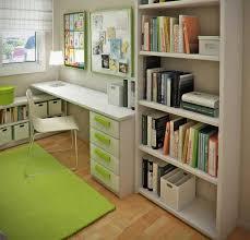decoration remarkable modern hanging office desk beside delightful modern bookshelves ideas also mesmerizing green rug bedroomdelightful elegant leather office