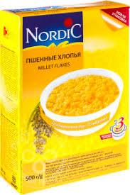 Купить <b>Хлопья Nordic</b> Пшенные 500г с доставкой на дом по цене ...