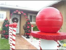 DIY Christmas Decoration - Candy Cane Lane - YouTube