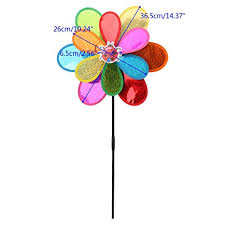 ForHe Wind Spinner, 1 pc Double Layer Windmill ... - Amazon.com