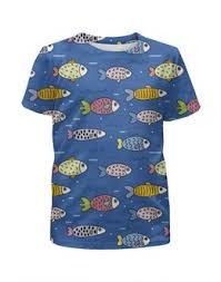 """Детские футболки c необычными принтами """"море"""" - <b>Printio</b>"""