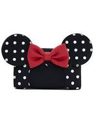 <b>Кошелек</b> Funko LF: <b>Disney</b>: <b>Minnie Mouse</b> Blk/Wht Polka Dot Wallet ...