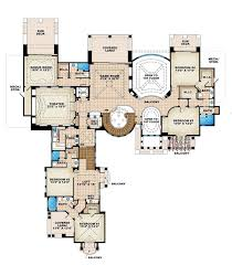 Luxurious House Plans   Front Sloping Lot House Plans Car Garage    Images Luxurious Floor Plans Pinterest     Luxurious House Plans