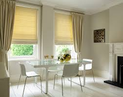 living room decorated stripes roman puriti cotton copy cheap roman blinds