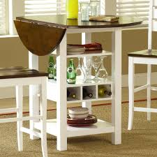 Small Dining Room Storage Furniture Of America Audrey 7 Piece Contemporary Dining Set Today