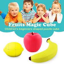 <b>Fruit</b> Rubiks Cube Stickerless Magic Cube <b>Fruit Shaped Puzzles</b> ...