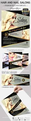 hair and nail salons flyer psd template facebook cover by hair and nail salons flyer psd template facebook cover