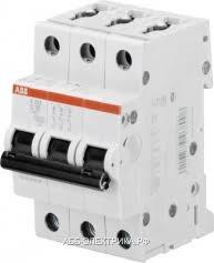ABB S203 <b>Автоматический выключатель 3P 10А</b> (С) 6kA