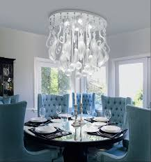 Modern Crystal Chandeliers For Dining Room Marvelous Dining Rooms Archives Modern Home Design Ideas