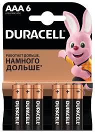 <b>Батарейка</b> Duracell Basic <b>AAA</b> — купить по выгодной цене на ...