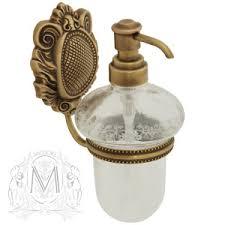 <b>Migliore Cleopatra Дозатор</b> жидкого мыла настенный бронза