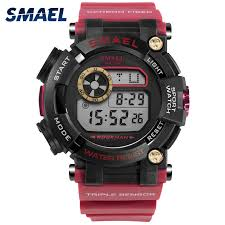 2018 <b>Smael</b> Brand <b>Digital Wristwatches Luxury</b> Army Student ...