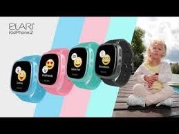 <b>Elari KidPhone 2</b>: kids` smartwatch with GPS/GLONASS/LBS ...