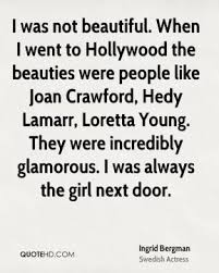 Loretta Young Quotes - Page 1   QuoteHD via Relatably.com