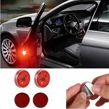<b>2x Car</b> styling LED <b>Door Warning</b> lamp For Nissan Qashqai j11 Juke ...