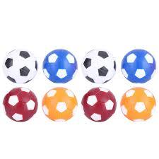 <b>8 pcs</b> Colorful <b>Table Soccer</b> Ball Mini Size Football Soft Indoor ...