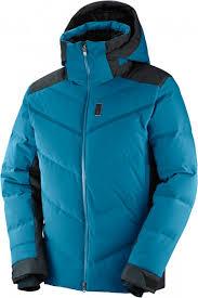 <b>Куртка</b> пуховая <b>мужская</b> Salomon Whitebreeze <b>Down</b> cиний цвет ...