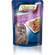 <b>Паучи Stuzzy Cat</b> Speciality with Veal кусочки в соусе с телятиной ...