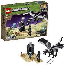 <b>Конструктор LEGO MINECRAFT Последняя</b> битва Конструктор ...