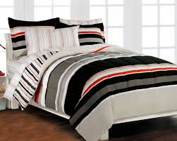 twin comforter sets for boys nautical stripe gray 5p boys teen bedding set twin bedding sets twin kids
