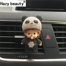 Hazy beauty Panda automobile <b>Outlet perfume clip</b> Diamond <b>Air</b> ...