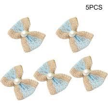 Shop Vintage Natural Linen Lace Bow-knot Marriage <b>Ribbon</b> ...