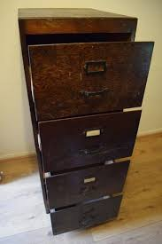 art deco vintage mid century wooden 4 drawer filing cabinet can deliver 150 century office equipment