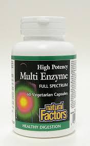 <b>high potency multi enzyme</b> full spectrum, 60 vegetarian caps ...
