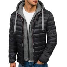 <b>ZOGAA</b> Winter Men's <b>Cotton</b> Hooded Coat Jacket <b>2018</b> Brand <b>New</b> ...