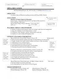 preschool teacher resume sample objective cipanewsletter cover letter objectives for teacher resume objectives for computer