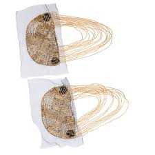 1 Pair Tassel Epaulette Beads <b>Shoulder Board</b> Mark Costume ...