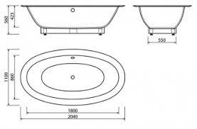 <b>Ванна из искусственного</b> камня ESSE Cuba 2030x1090х570 ...