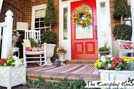 front door decorating ideas spring