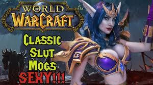 <b>Classic</b> Wow: Slutmogs (<b>Sexy Female</b> Armors) + Giveaway - YouTube