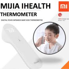 <b>ORIGINAL</b> Xiaomi Mijia Portable <b>iHealth</b> Infrared <b>thermometer LED</b> ...