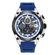 <b>MEGIR 2127G Men Quartz</b> Watch Multifunctional Chronograph ...