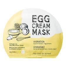 Увлажнение TOO COOL FOR SCHOOL <b>Яичная маска</b> для лица ...