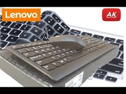 Unboxing || Review || <b>Lenovo 300 USB Combo</b> Keyboard and ...
